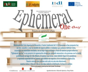 Ephemeral one day
